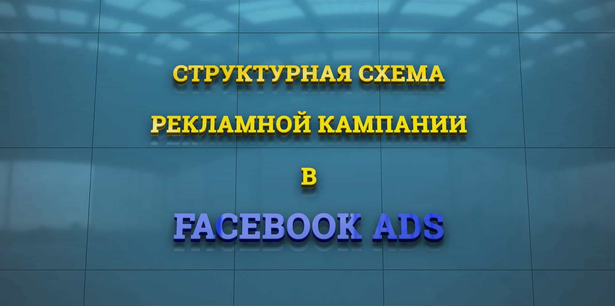 Структура рекламной кампании в Facebook
